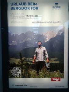 Der Bergdoktor - Plakat klein